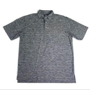 Footjoy Grey Soft Golf Polo Size Large